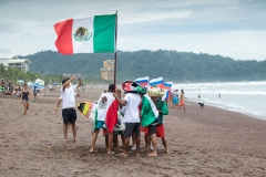 Team Mexico Flags. PHOTO: ISA / Jimenez