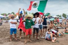 Team Mexico Flags. PHOTO: ISA / Jimenez