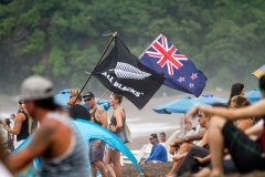 Team New Zealand Flag. PHOTO: ISA / Jimenez