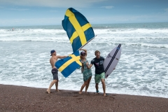 Team Sweden Flag. PHOTO: ISA / Jimenez