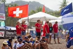 Team Switzerland Flag. PHOTO: ISA / Jimenez