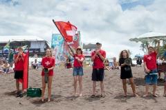 Team Switzerland Flag. PHOTO: ISA / Jimenez