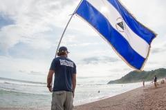 Nicaragua Flag. PHOTO: ISA / Jimenez