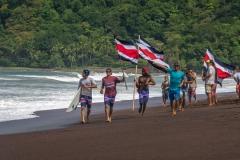 Team Costa Rica. PHOTO: ISA / Evans