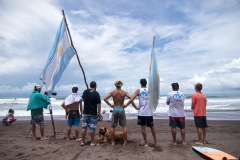 Team Argentina Flags. PHOTO: ISA / Jimenez