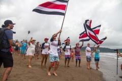Team Costa Rica Flags. PHOTO: ISA / Jimenez