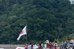 Team Japan Flags. PHOTO: ISA / Jimenez