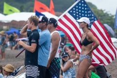Team USA Flag. PHOTO: ISA / Jimenez