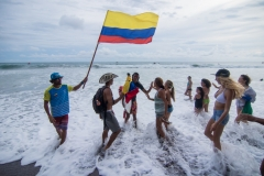Team Colombia. PHOTO: ISA / Jimenez