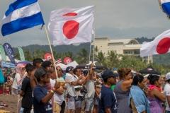 Team Japan and Team Nicaragua. PHOTO: ISA / Evans