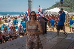 Minister of Sport of Costa Rica, Carolina Mauri,. PHOTO: ISA / Evans