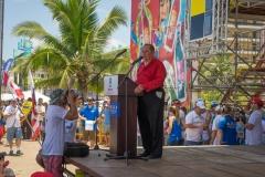 Mayor of Garabito, Tobías Murillo. PHOTO: ISA / Evans