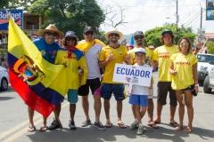 Team Ecuador. PHOTO: ISA / Jimenez