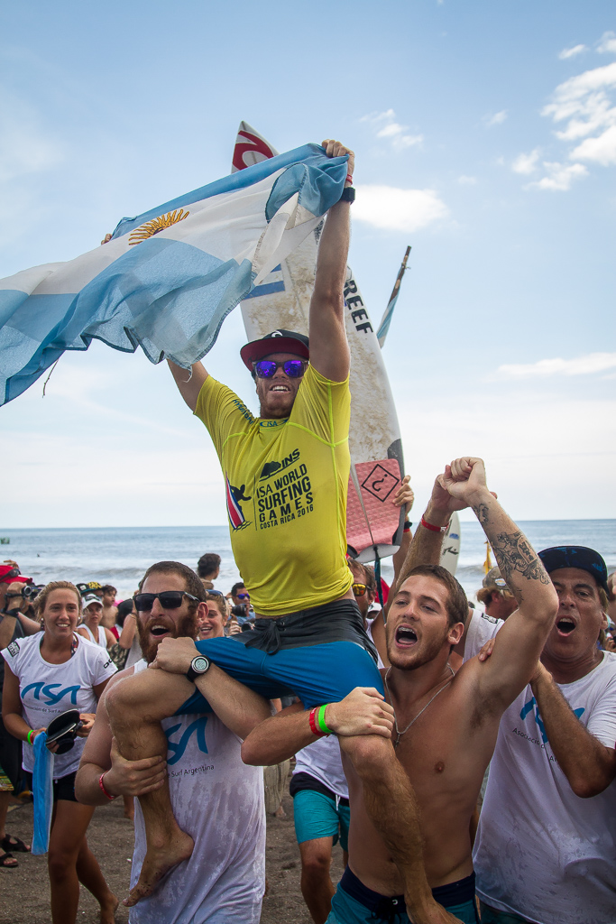 Leandro Usuna has made the Final in the last three ISA World Surfing Games, winning the Gold Medal twice, in 2014 and 2016. Photo: ISA / Pablo Jimenez