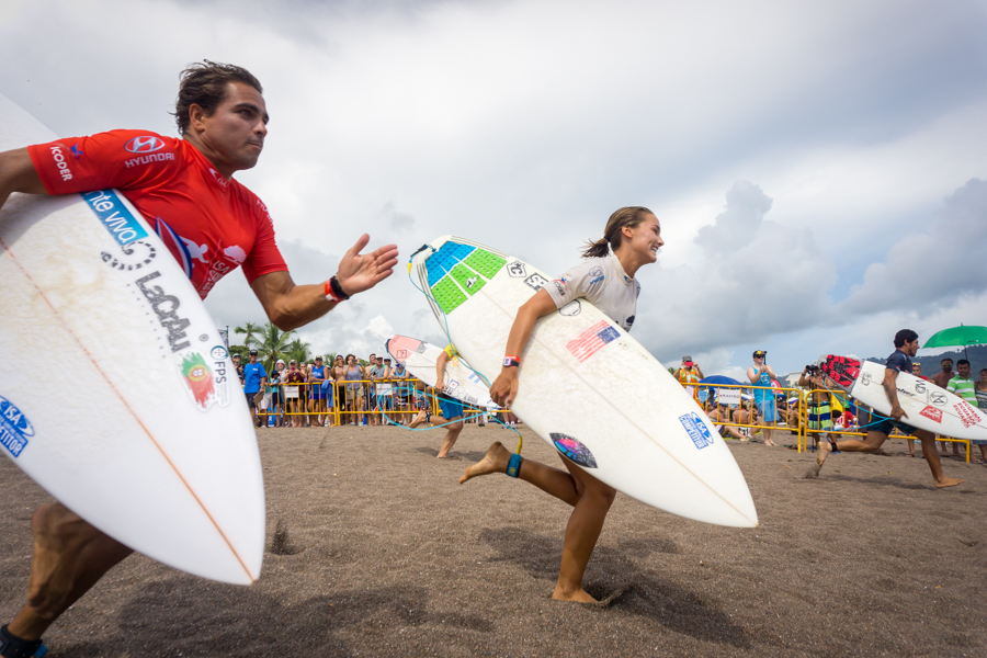 La segunda Semifinal del ISA Aloha Cup arranca con la participación de Argentina, Estados Unidos, Ecuador y Portugal. Foto: ISA/Sean Evans
