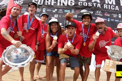 Team Peru Wins 2016 INS ISA World Surfing Games