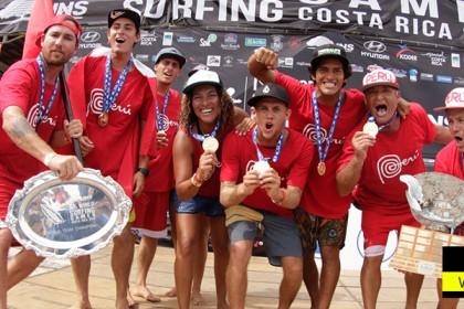 El Equipo de Perú Gana el INS ISA World Surfing Games 2016