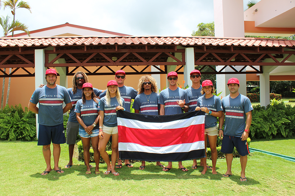 Team Costa Rica is ready to defend their 2015 ISA World Surfing Games Team Gold Medal in their local waves. Photo: ISA