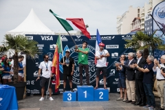 Open Men - Gold: Jhony Corzo (MEX) , Silver: Joan Duru (FRA), Bronze: Pedro Henrique (POR), Copper: Johnatan Gonzalez (ESP). PHOTO: ISA / Ben Reed