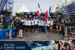 Team France. PHOTO: ISA / Ben Reed