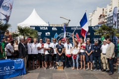 Team France. PHOTO: ISA / Ben Reed