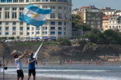 ARG - Flags. PHOTO: ISA / Evans