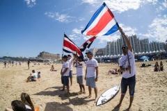Team Costa Rica. Photo: ISA / Borja Irastorza