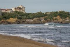 Biarritz Empty Castle. PHOTO: ISA / Evans
