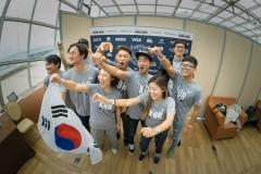 Team South Korea. PHOTO: ISA / Evans