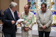 Michel Veunac, Maire de Biarritz , ISA President Fernando Aguerre,  PHOTO: ISA / Ben Reed