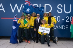 Team Australia. PHOTO: ISA / Evans