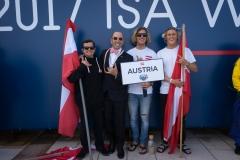 Team Austria. PHOTO: ISA / Evans