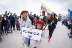 Team Ecuador. PHOTO: ISA / Evans