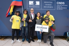 Team Ecuador. PHOTO: ISA / Evans