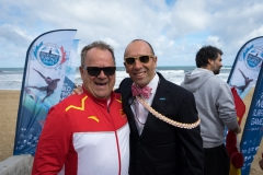 ISA President Fernando Aguerre and Chinese Coach. PHOTO: ISA / Evans
