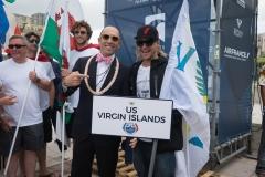 Team US Virgin Islands. PHOTO: ISA / Evans