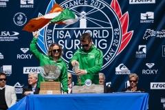 Team Ireland. PHOTO: ISA / Ben Reed