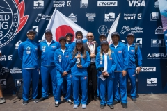 Team Japan. PHOTO: ISA / Evans