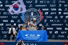 Team South Korea. PHOTO: ISA / Ben Reed