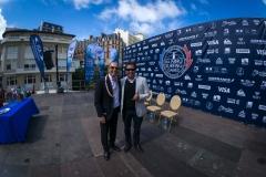 ISA President Fernando Aguerre and ISA Vice President Karin Sierralta. PHOTO: ISA / Evans