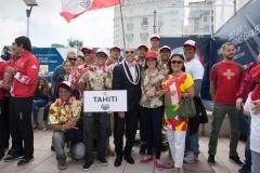 Team Tahiti. PHOTO: ISA / Sean Evans