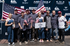 Team USA. PHOTO: ISA / Ben Reed