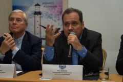 Max Brisson -Vice president Department of Sports Pyréneés Atlantiques  . PHOTO: ISA / Evans