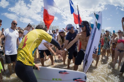 France Wins Historic First-Ever Team World Championship at 2017 ISA World Surfing Games