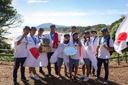 Historic Victory for Host Team Japan at 2018 UR ISA World Surfing Games