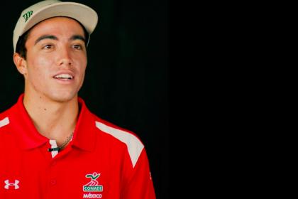 Mexico's Jhony Corzo Barreling Towards the Olympics