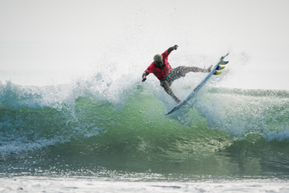 Powerful Performances and Unexpected Upsets Define Day 6 at 2019 ISA World Surfing Games presented by Vans