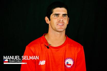 Manuel Selman is Dedicated to Surfing